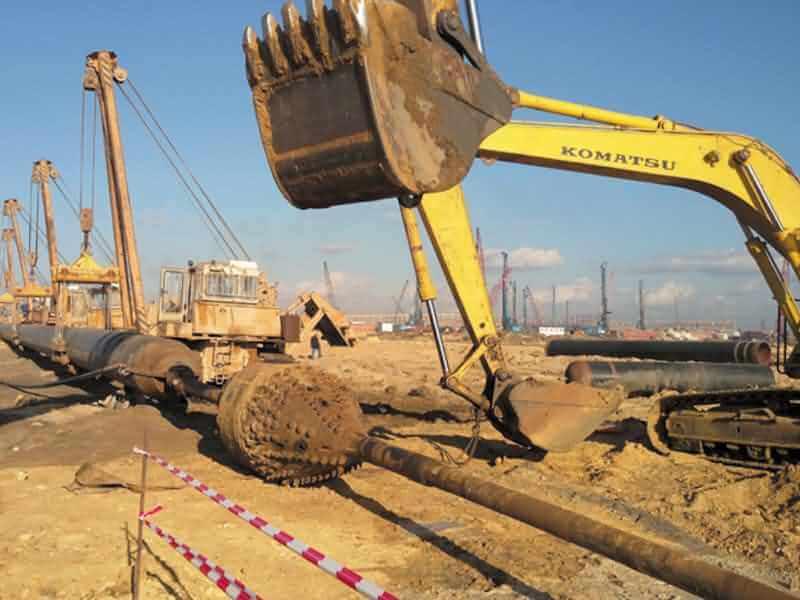 19 Water Pipeline Damietta City